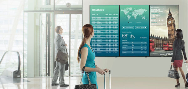 Airport Digital Signage