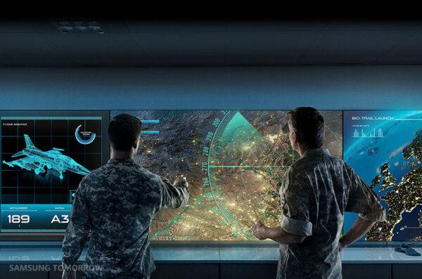 Military Digital Signage